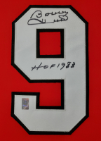 "Bobby Hull Signed 34x42 Custom Framed Jersey Inscribed ""HOF 1983"" (Hull Hologram) at PristineAuction.com"