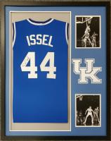 Dan Issel Signed 34x42 Custom Framed Jersey (JSA COA) at PristineAuction.com
