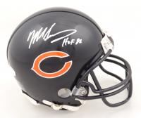 "Mike Singletary Signed Bears Mini Helmet Inscribed ""HOF 98"" (JSA COA) at PristineAuction.com"