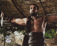 """Jason Momoa Signed """"Game of Thrones"""" 8x10 Photo (Beckett COA) at PristineAuction.com"""