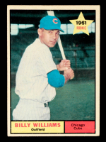 Billy Williams 1961 Topps #141 RC at PristineAuction.com