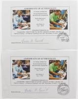 Peyton Manning & John Elway Signed 16x20 Photo (Mounted Memories COA & Manning Hologram) at PristineAuction.com