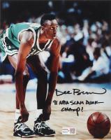 "Dee Brown Signed Celtics 8x10 Photo Inscribed ""91 NBA Slam Dunk Champ!"" (TriStar Hologram) at PristineAuction.com"