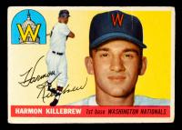 Harmon Killebrew 1955 Topps #124 RC at PristineAuction.com