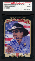 Richard Petty Signed 2012 Upper Deck Goodwin Champions #62 (SGC Encapsulated) at PristineAuction.com