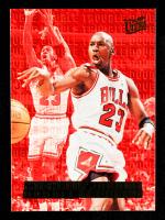 Michael Jordan 1995-96 Ultra Double Trouble #3 at PristineAuction.com