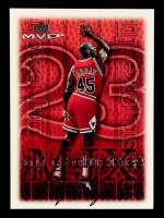 Michael Jordan 1999-00 Upper Deck MVP Silver Script #180 at PristineAuction.com