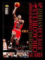Michael Jordan 1995-96 Collector's Choice Jordan He's Back #M3 Versus Knicks at PristineAuction.com