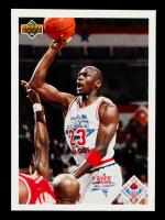 Michael Jordan 1991-92 Upper Deck #48 AS CL at PristineAuction.com