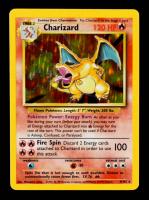 Charizard 1999 Pokemon Base Set Rare Unlimited #4 Holo at PristineAuction.com