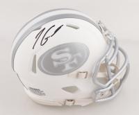 Jimmy Garoppolo Signed 49ers White ICE Speed Mini Helmet (TriStar Hologram) at PristineAuction.com