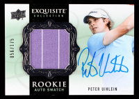Peter Uihlein 2014 Exquisite Collection #73 Shirt Autograph RC #056/175 at PristineAuction.com