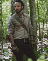 """Andrew Lincoln Signed """"The Walking Dead"""" 8x10 Photo (Beckett COA) at PristineAuction.com"""