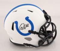 Quenton Nelson Signed Colts Lunar Eclipse Alternate Speed Mini Helmet (JSA COA) at PristineAuction.com