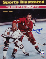 """Bill Gadsby Signed Red Wings 8x10 Photo Inscribed """"H.O.F. 1970"""" (Beckett COA) at PristineAuction.com"""
