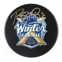 Ryan McDonagh Signed 2018 Winter Classic Logo Hockey Puck (Fanatics Hologram & Steiner Hologram) at PristineAuction.com