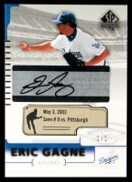 Eric Gagne 2004 SP Authentic Game-Dated Autographs #62 #1/1 at PristineAuction.com