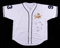 Jersey Cast-Signed by (6) with Tom Guiry, Chauncey Leopardi, Marty York, Shane Obedzinski with (6) Character Inscriptions (Beckett COA) at PristineAuction.com
