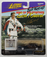 """Evel Knievel Signed """"King of the Stuntmen"""" Custom Sports Car in Original Packaging (Beckett COA) at PristineAuction.com"""