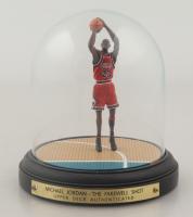 "Michael Jordan ""The Farewell Shot"" Upper Deck Tributes Statue (See Description) at PristineAuction.com"