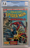 """1974 """"The Amazing Spider-Man"""" Issue #130 Marvel Comic Book (CGC 7.5) at PristineAuction.com"""