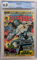 """1973 """"The Defenders"""" Issue #5 Marvel Comic Book (CGC 6.0) at PristineAuction.com"""