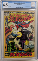 """1972 """"The Amazing Spider-Man"""" Issue #109 Marvel Comic Book (CGC 6.5) at PristineAuction.com"""