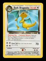 Dark Dragonite 1999 Pokemon Team Rocket Rare Unlimited #22 at PristineAuction.com