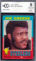 Joe Greene 1971 Topps #245 RC (BCCG 9) at PristineAuction.com