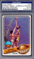 Kareem Abdul-Jabbar Signed 1979-80 Topps #10 All-Star (PSA Encpasulated) at PristineAuction.com