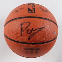 Kristaps Porzingis Signed Game Ball Series Mini Basketball (Steiner Hologram & Fanatics Hologram) (See Description) at PristineAuction.com