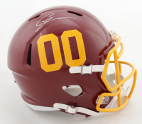 Chase Young Signed Washington Full-Size Speed Helmet (Fanatics Hologram) (See Description) at PristineAuction.com