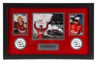 Dale Earnhardt Jr. Signed 16x26 Custom Framed Photo Display (Mounted Memories Hologram & Earnhardt Jr. Hologram) at PristineAuction.com