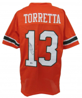 Gino Torretta Signed Jersey (Beckett Hologram) at PristineAuction.com