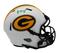 Brett Favre Signed Packers Full-Size Lunar Eclipse Alternate Speed Helmet (Radtke COA) at PristineAuction.com