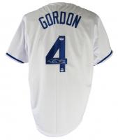 Alex Gordon Signed Jersey (PSA COA & LOJO Hologram) at PristineAuction.com