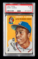 Hank Aaron 1954 Topps #128 RC (PSA 5) at PristineAuction.com