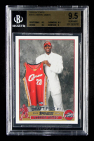 LeBron James 2003-04 Topps #221 RC (BGS 9.5) at PristineAuction.com