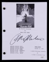 "Ralph Macchio Signed ""The Karate Kid"" Movie Script (JSA COA) at PristineAuction.com"