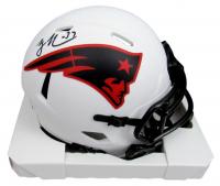 Rodney Harrison Signed Patriots Lunar Eclipse Alternate Speed Mini Helmet (Beckett Hologram) at PristineAuction.com