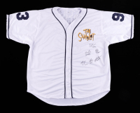 Jersey Cast-Signed by (6) with Tom Guiry, Chauncey Leopardi, Marty York, Shane Obedzinski with (6) Character Inscriptions (Beckett Hologram) at PristineAuction.com