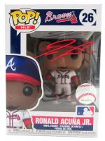 Ronald Acuna Jr. Signed Braves #26 Funko Pop! Vinyl Figure (Beckett Hologram) at PristineAuction.com