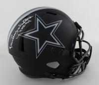 "Randy White Signed Cowboys Full-Size Eclipse Alternate Speed Helmet Inscribed ""HOF 94"" (Schwartz COA) (See Description) at PristineAuction.com"