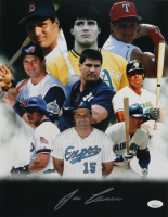 Jose Canseco Signed 11x14 Photo (JSA COA) at PristineAuction.com