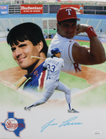 Jose Canseco Signed Rangers 11x14 Photo (JSA COA) at PristineAuction.com
