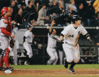 """Joe Crede Signed White Sox 11x14 Photo Inscribed """"'05 W.S. Champs!"""" (JSA COA) at PristineAuction.com"""