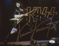 "Vinnie Vincent Signed KISS ""The Ankh Warrior"" 8x10 Photo (JSA COA) at PristineAuction.com"