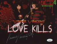 Vinnie Vincent Signed 8x10 Photo (JSA COA) at PristineAuction.com