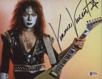 """Vinnie Vincent Signed KISS """"The Ankh Warrior"""" 8x10 Photo (Beckett COA) at PristineAuction.com"""