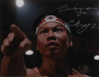"Bolo Yeung Signed ""Bloodsport"" 11x14 Photo (AutographCOA COA) at PristineAuction.com"